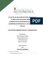 USO DE CELULARES DE ULTIMA GENERACIÓN