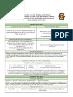 FORMATO 1  PLANIFICACIÓN ANUAL INSTRUCCTIVO