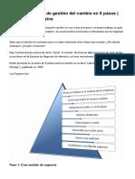 Modelo de Kotter de Gestión Del Cambio ...Dministración, Marketing y Tecnología.