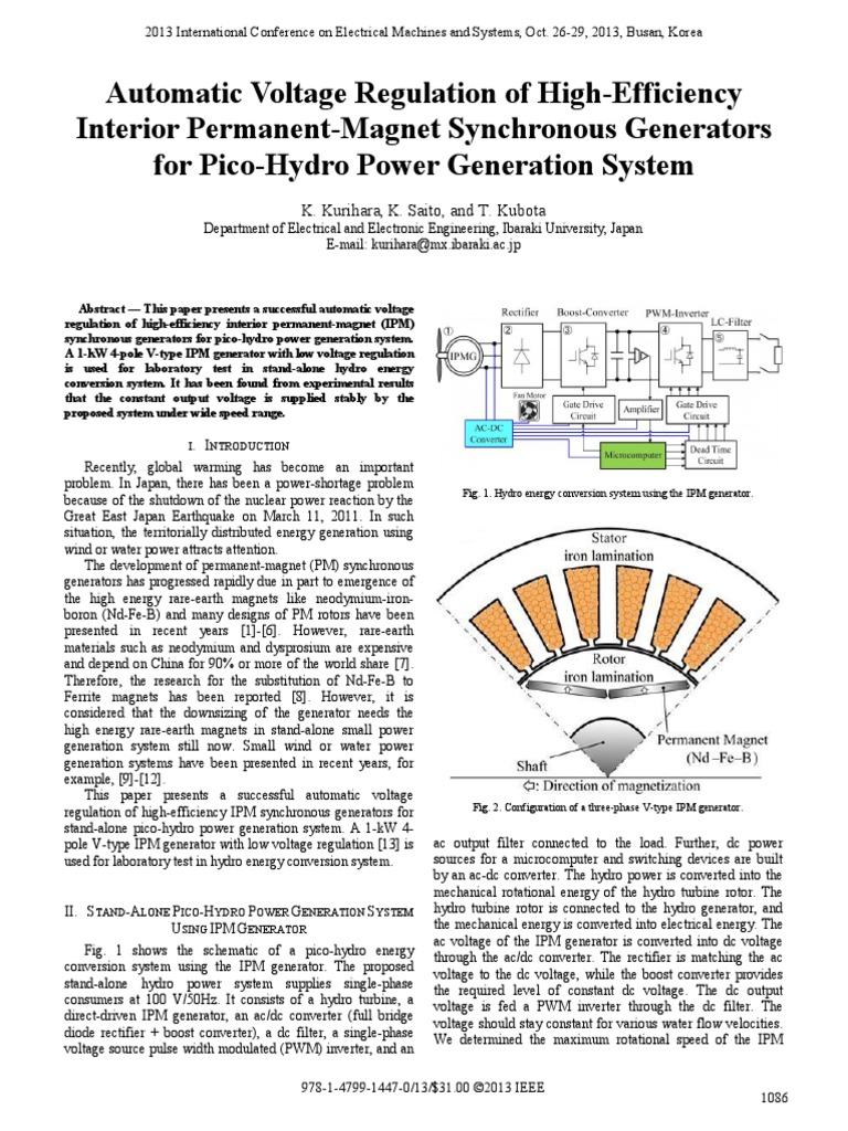 Automatic Voltage Regulation Of High Efficiency Rectifier Power To Pulse Duration Converter Inverter