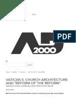 Rofe - Church Reform the Reform