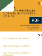2 Problemas Ambientales Globales Nacionales y Locales