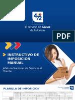Presentacion Instructivo de Imposicion Manual (1)