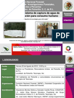 Proyecto de Captura y Purificacion de Agua Tezonapa, Ver.