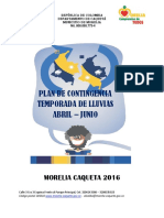 Plan Lluvia Morelia Compromiso de Todos 2016