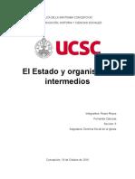 El Estado y Organismos Intermedios