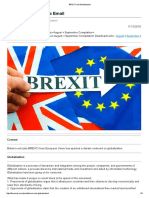 BREXIT and Globalization