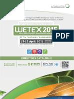 Wetex 2015 Catalogue