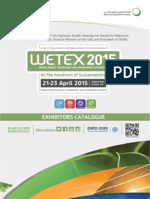 Wetex 2015 Catalogue Dubai Renewable Energy