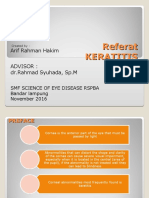 Keratitis Ppt 1 SUB ENGLISH