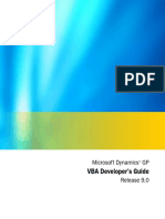 VBA Developers Guide