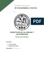 Programa Mio didacticas de la lengua y la literatura 2016 unl