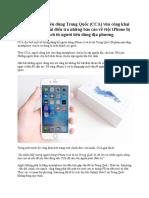 Apple Bị Điều Tra Tại Trung Quốc Sau Khi Một Số Lượng Lớn iPhone 6 Và 6s Tự Dưng Biến Thành Cục Gạch