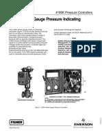 4195K Series Gauge Pressure Indicating Controllers