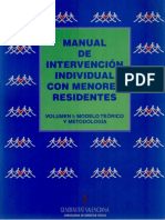 Manual de Intervención Con Menores Residentes (Volumen I) (1)