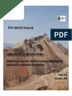 Geoquímica en La Exploración
