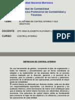 Control Interno 2016