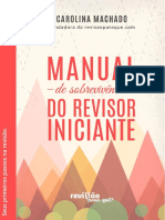 Manual de Sobrevivência Do Revisor Iniciante - Capítulo 1 1