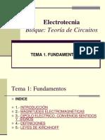 Electrotecnia conceptos basicos
