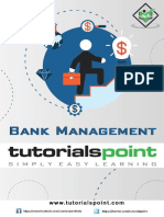 Bank Management Tutorial