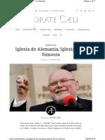 Adelantelafe.com Iglesia de Alemania Iglesia de La Simon