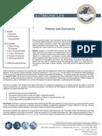 Patentes FDA