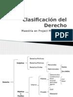 1.- Clasificacion Del Derecho