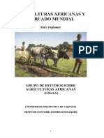 Agriculturas Africanas y Mercado Mundial (1)
