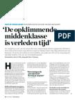 'De opklimmende middenklasse is verleden tijd' , Geert en Stefaan Gielens filosoferen over wat er schort aan onze maatschappij