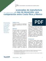 Manufactura Avanzada Comp Mexico Costa Rica