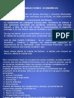 Transacciones Economicas 19 Octubre.