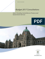 FGS 2016-11-15 Report_BudgetConsultation (K 12 Public Ed)