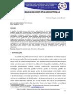 Etnoadministração - artigo CONAPE