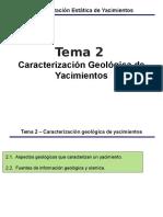 2. Caracterizacion Geologica
