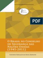 O Brasil No Conselho Segurança da ONU