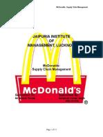 28339073 Mc Donalds Supply Chain Management