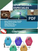 Sustentacion Comercio Exterior Cafes Especiales