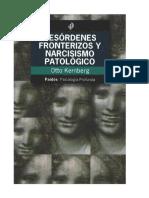 104292144 Kernberg Desordenes Fronterizos y Narcisismo Patologico OCR