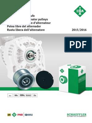 INA Generatorfreilauf 535 0047 10 für VW