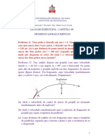Problemas de Física - Cap. 9