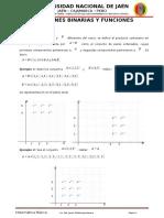 Unidad III - Relaciones Binarias y Funciones