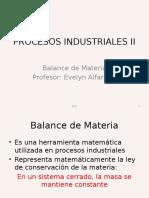 c3 Balance de Materia