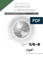 CogAT 7 DAforOnlineTesting L5-8