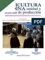 Agricultura Andina Unidad y Sistema de Producció