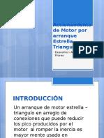 Accionamiento de Motor Por Arranque Estrella - Triangulo