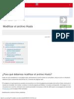 Modificar el archivo Hosts.pdf
