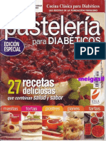 Cocina Clásica Para Diabéticos - Pastelería Para Diabéticos