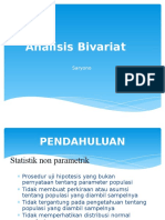 analisis Bivariat