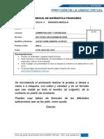 MATEMATICA FINANCIERA (1)