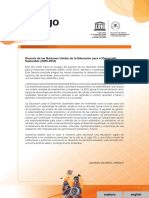 Unesco Etxea - Manual Unesco Cast - Education for Sustainability Manual